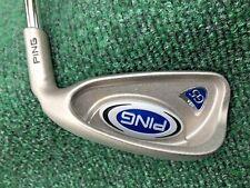 "Ping G5 Silver Dot Men's RH 6 iron Stiff flex steel shaft & Ping grip +1"" length"
