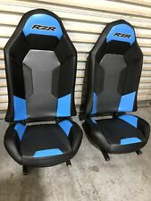 Polaris RZR XP1000 Seats Blue And Black (2) Seats Great Condition.
