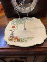 Staffordshire - Art Deco - Cream - Sweets Platter