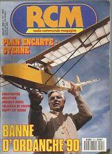 RCM N°111 PLAN : STERNE / EUROFIGHTER / GRAUPNER / PHOEBUS RODEL / COLUMBIA RC