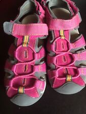 f09ea39a78f2 Circo Leather Sandals Girls Size 1 Pink Waterproof Outdoor