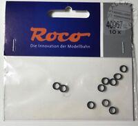 ricambi H0: ROCO 40067 anelli di aderenza 6,8-8,2 mm (conf. 10 pz)