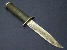 WWII US Kinfolks Fighting Bowie Knife No Sheath