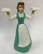Disney Beauty & the Beast Belle PVC Doll McDonalds Cake Topper Poseable