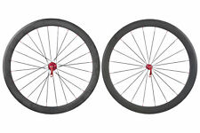 Carbon Clincher 11 Speed Shimano Road Bike Wheel Set 700c