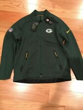 Nike NFL Green Bay Packers Coaches Sideline Therma Jacket Size Large 852899 323
