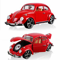 Vintage VW Beetle Superior 1967 1:18 Model Car Diecast Toy Collection Gift Red