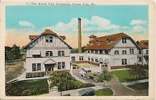 The Grove City Creamery in Grove City PA Postcard