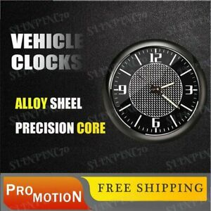 Car Clock For Mercedes-Benz Refit Interior Luminous Electronic Quartz Ornaments