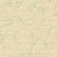 York Washed Trail Curving Acanthus Leaves Wallpaper per Double Roll   BR6309