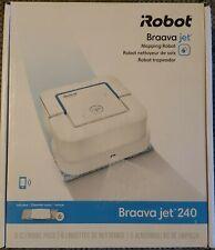 iRobot Braava jet 240 App Controlled Robot Mop-White-Brand New-Cleaning pads....