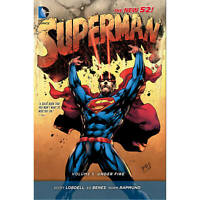 Superman Hard Cover Vol 05 Under Fire (N52) DC Comics Book #S1