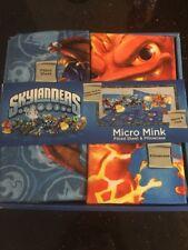 Skylanders Gamer Kids Bedding Sheet Set Twin Size Boys Pillow Case NEW