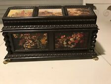 Vintage Merle Norman Jewelry Music Box Victorian Makeup Chest Plays My Favorite