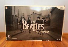 The Beatles: Rock Band Premium Bundle - Limited Edition- Wii (Brand New/Sealed!)