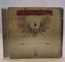 End of Grey by Decyfer Down CD 2005 Free Shipping