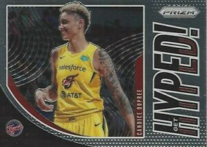 2020 WNBA PANINI PRIZM * CANDICE DUPREE * GET HYPED * INSERT CARD #3 FEVER STORM