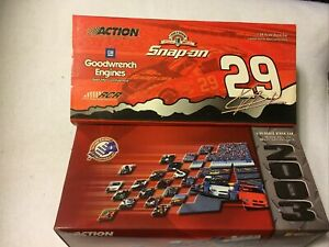 1/24 KEVIN HARVICK #29 SNAP-ON / GM GOODWRENCH 2003 ACTION NASCAR DIECAST