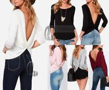 Casual Solid Petite Tops & Blouses for Women
