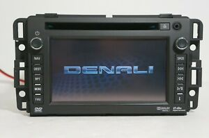 2012 GMC Sierra Yukon AM FM CD Player Navigation Radio Receiver UYS OEM 22856825