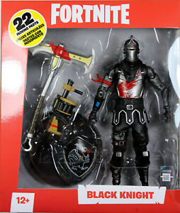 Fortnite ~ BLACK KNIGHT DELUXE 7-INCH ACTION FIGURE ~ McFarlane Toys