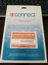 New unopened Mcgraw hill connect writing access card code online course work