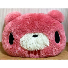 """GLOOMY BEAR Plush Doll Expensive-Looking Face Cushion Pink Bloody 35cm14"""""""
