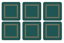 Pimpernel Classic Emerald Coasters Set of 6