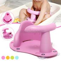 Baby Bath Seat Ring Chair Tub Infant Toddler Bathtub Fun Wash Anti-slip Mat