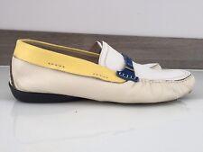 Alberto Guardiani Men's Shoes White Leather Size 45