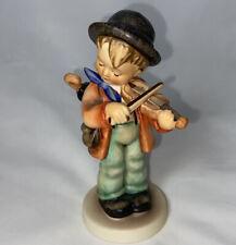 """New ListingOriginal Vintage Mj Hummel Goebel West Germany Figurine 4 83 """"Little Fiddler� 5�"""