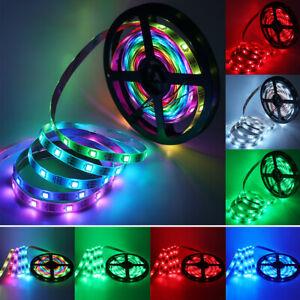 1-5m WS2812B RGB 5050 LED Streifen Strip Lichtleiste Individuell Adressierbar 5V