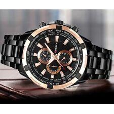 Montre de luxe Pour Homme CURREN Professionnel Affaires Bracelet en Stainless