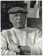 Picasso à Vallauris - Tirage argentique d'époque 1954 -