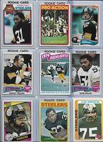 Steelers All-Time Greatest Vintage Lot of (30) w/ Rookies Swann Bleier Shell EX
