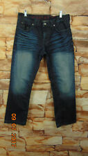 Mens Decree Jeans 34 X 32 Slim straight 100% Cotton