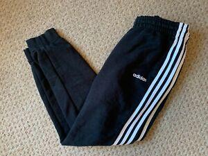 Womens Adidas Cotton Sweatpants Jogger Bottoms Track Pants Size 16-18 Ladies