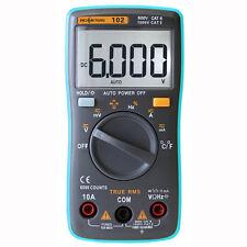 Multimeter DC AC Voltage Current Resistance Diode Capacitance Temperature Tester