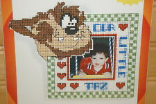 Leisure Arts Looney Tunes Our Little Taz-Cross Stitch Kit