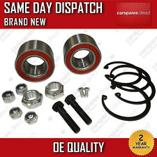VW JETTA / LUPO FRONT WHEEL BEARING PAIR (2x) + NUT 1997-2004 BRAND NEW