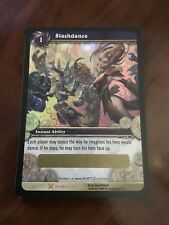 World Of Warcraft WOW TCG Slashdance Loot Card UNSCRATCHED Drums Of War MINT