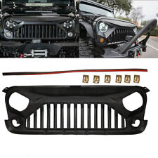 Front Bumper Grille for JEEP Wrangler Unlimited Rubicon Sport Utility 3.6L 3.8L