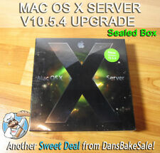 Apple Mac OS X 10.5.4 License Upgrade 10 to Unlimited Client MB6072/A Sealed Box