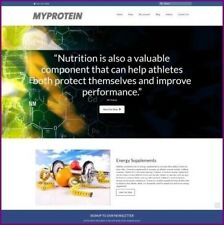 SPORTS NUTRITION Website Business For Sale|Earn $91.12 A SALE|FREE Domain