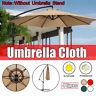 Sonnenschirm Bespannung Ersatz Schirm Bezug Gartenschirm Stoff