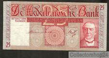 Nederland - Netherlands 25 Gulden Mees 1931 Zf / Vg  - CZ066492