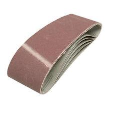 Qté 5 - 75mm x 533mm Ponçage Ceintures de 40 Grit-pour ceinture sander