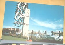 Sands Hotel A Place In The Sun Front Entrance Old Cars Oversize Post Card 1950