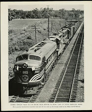 Maine Central Railroad Photo - Freight Train #682 B-12 - Bangor to Rigby Yard
