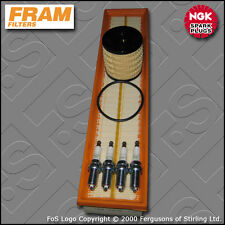 SERVICE KIT PEUGEOT 307 1.6 16V PETROL FRAM OIL AIR FILTERS PLUGS (2005-2007)